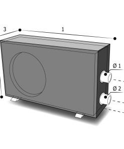 Housse sur mesure pompe à chaleur