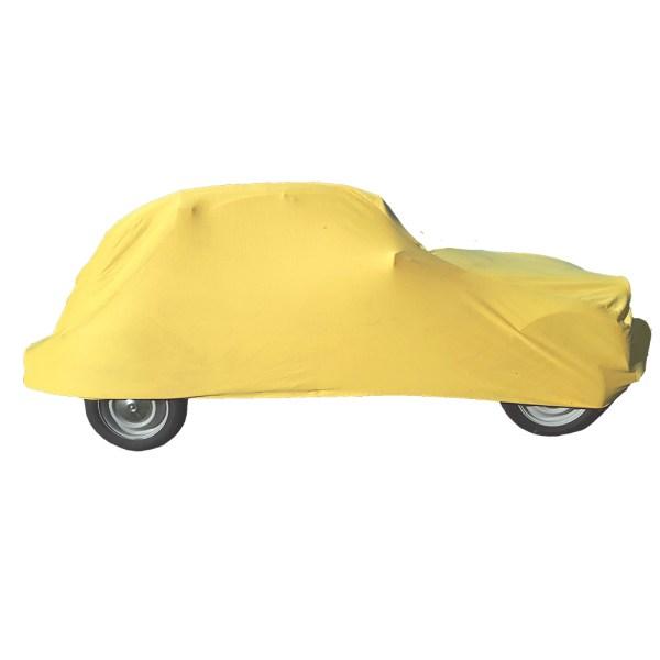 housse sur mesure Citroën 2cv intérieure Jaune