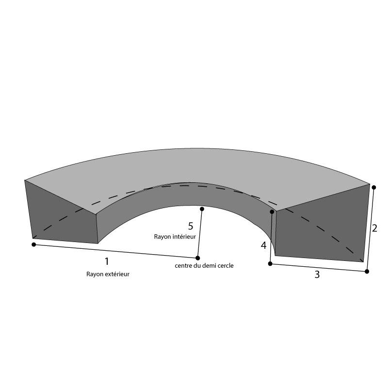 housse sur mesure canape demi circulaire