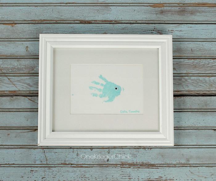 Little-Fish-Framed-Handprint-OneKriegerChick.com