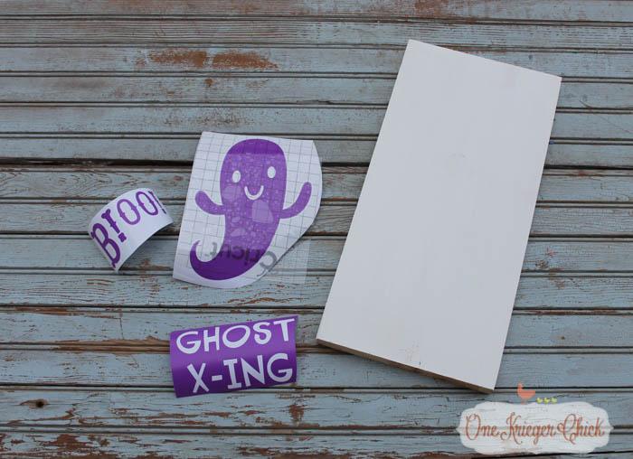 Boo Halloween Sign Pottery Barn Inspired Onekriegerchick