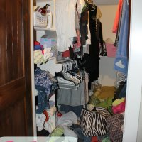 My Girly {just for mom} Closet Makeover