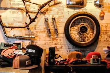 Prix de présence de Goulet Moto Sport, Brixton, Deus, Rebel Wells et Oneland