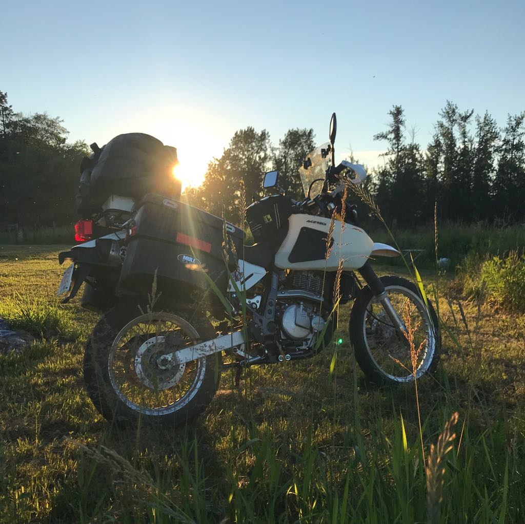 Moto Adventure650 Oneland episode 1 (2)