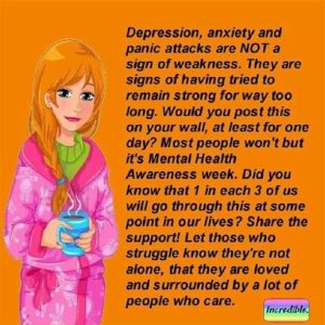 Depression not weakness