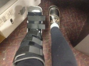 me and my boot