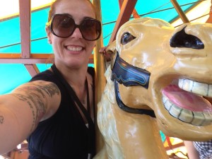 Carousel time -  free rides every week for staff!!!