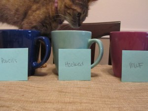 Names in mugs
