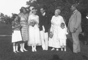 Ernest and Hadley's wedding © JFK Library, Boston/Edition Olms Zürich