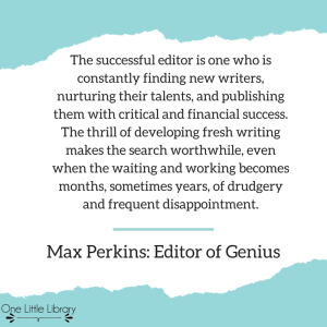 The successful editor