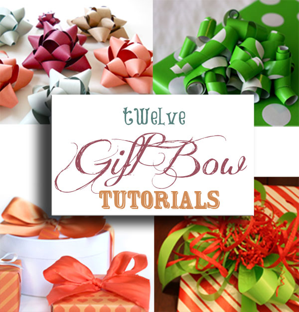 Twelve Gift Bow Tutorials