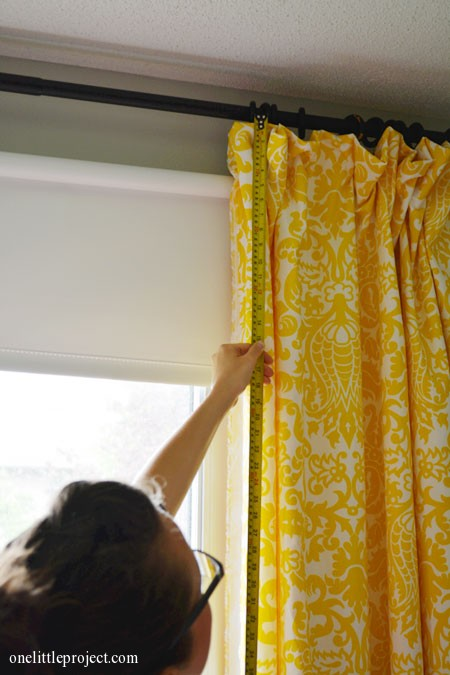 How To Make Blackout Curtains Tutorial