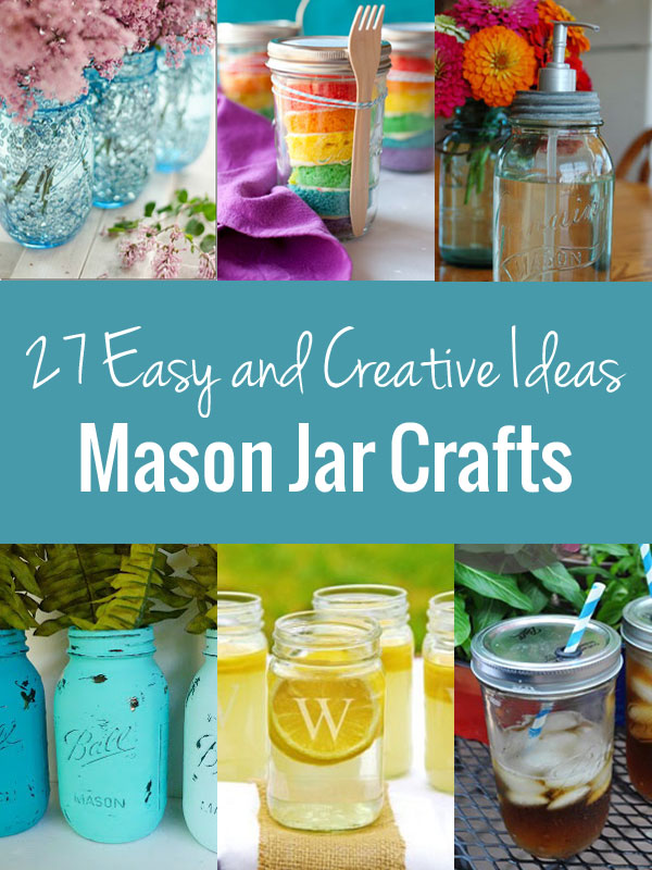 mason jar crafts a