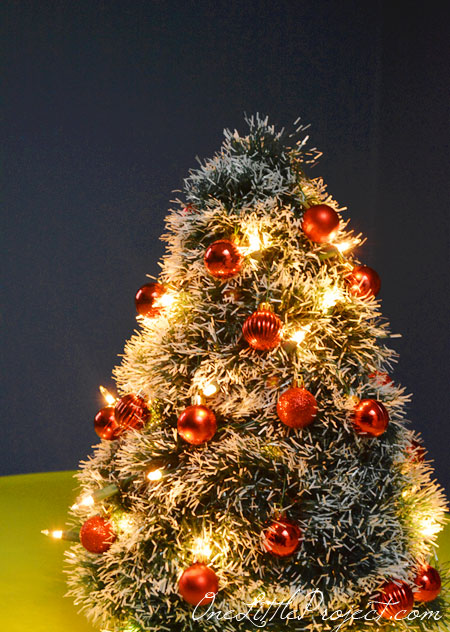 Mini Christmas Trees For Crafts