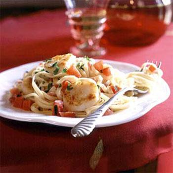 Pan-seared-scallops