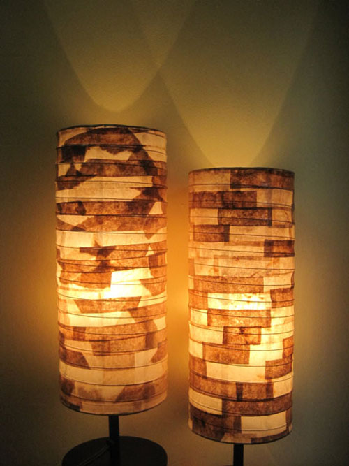 20 Beautiful Coffee Filter Crafts - Used Coffee Filter Lamps