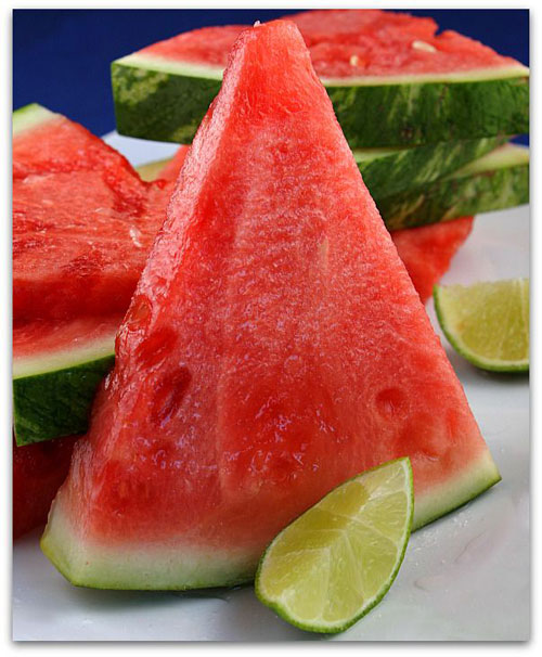 50+ Best Recipes for Fresh Watermelon - Tequila Soaked Watermelon Wedges