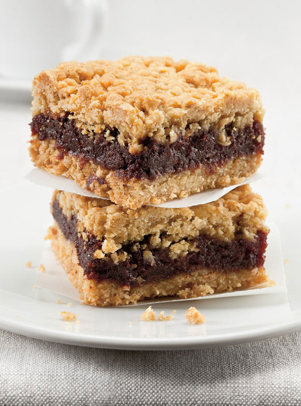 50+ Best Squares and Bars Recipes - Date Squares