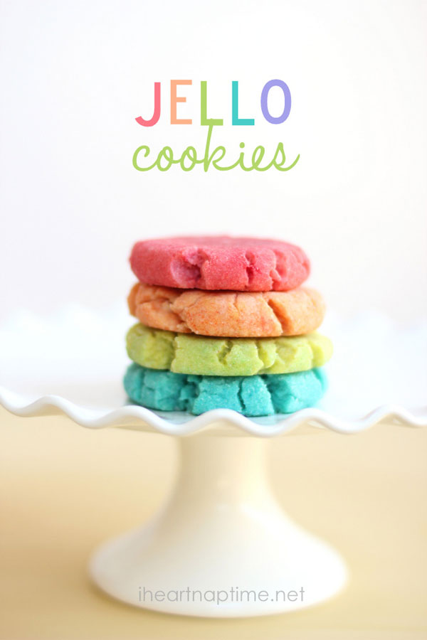 50+ Best Cookie Recipes - Jello Cookies
