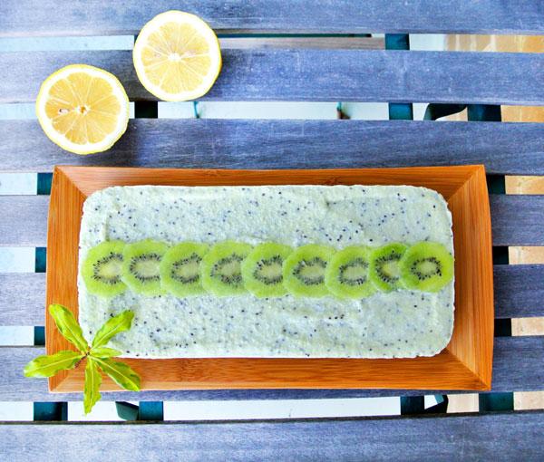 50+ Best Kiwi Recipes - Kiwi Lemon Cheesecake