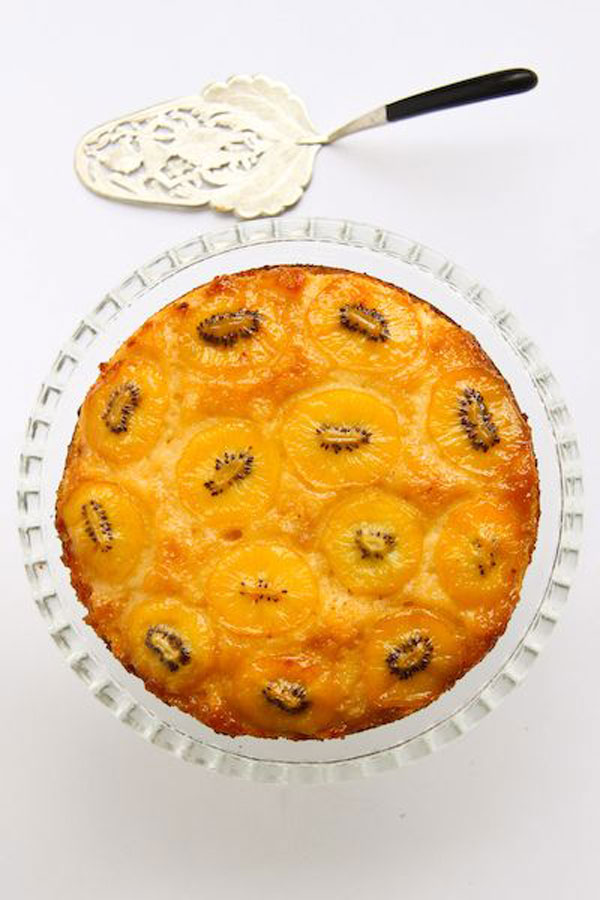 50+ Best Kiwi Recipes - Kiwi Upside Down Cake