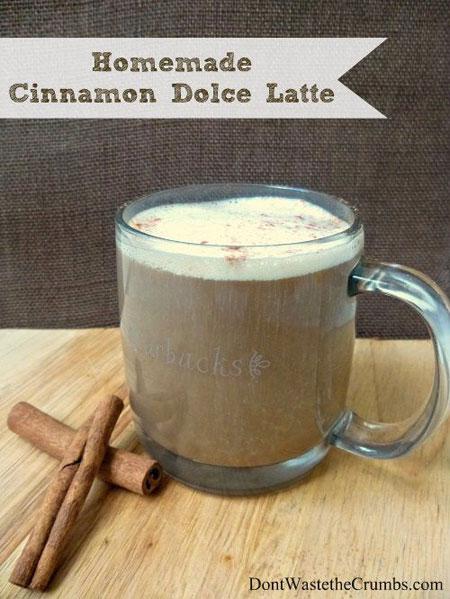 50+ Homemade Starbucks Recipes - Homemade Cinnamon Dolce