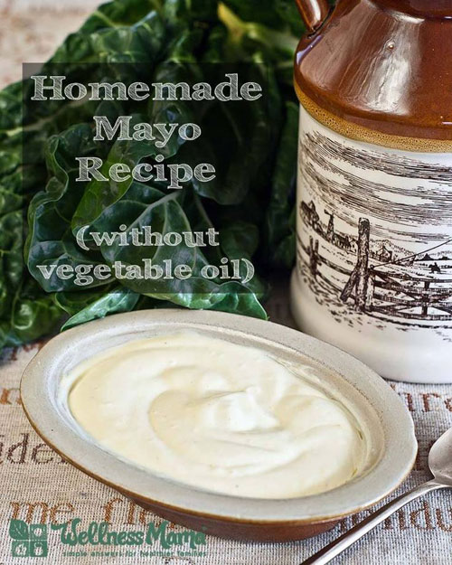 30+ Foods You Can Make Yourself - Homemade Mayo Recipe