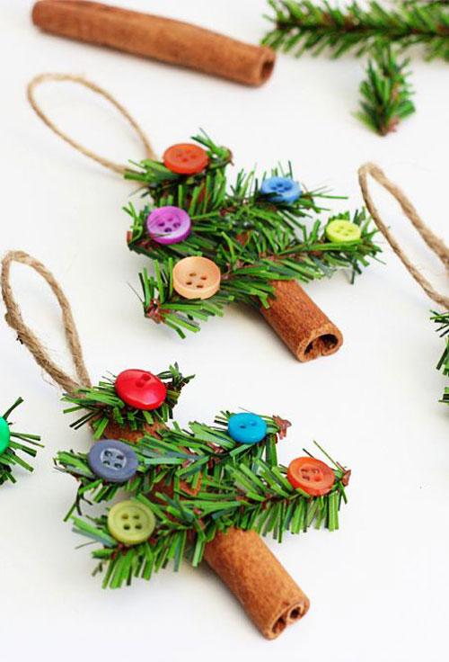 Homemade Christmas Tree Ornaments Ideas