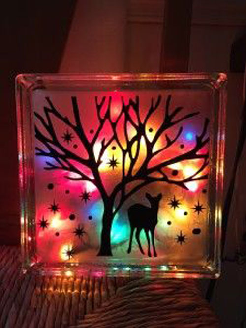 Christmas Lights Craft
