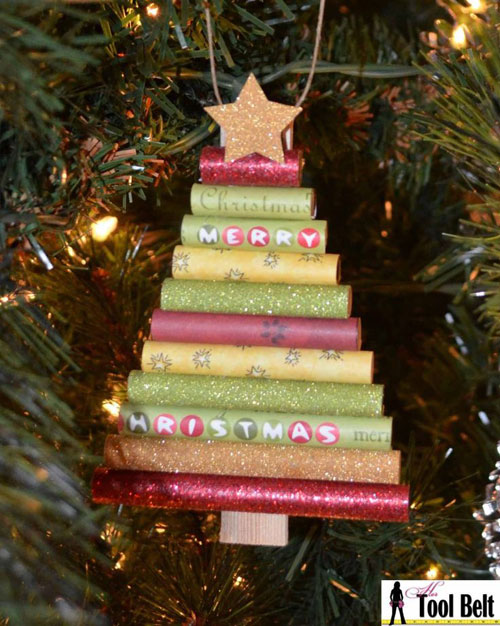 Paper Christmas Ornament Crafts