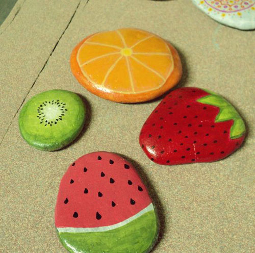 37 Awesome DIY Summer Projects - Painted Rocks
