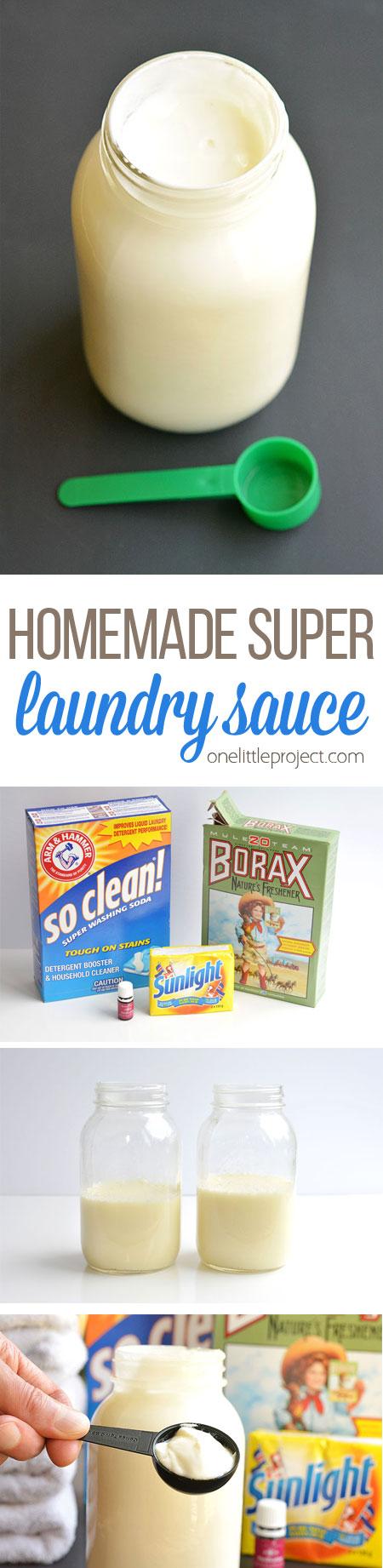 homemade super laundry sauce