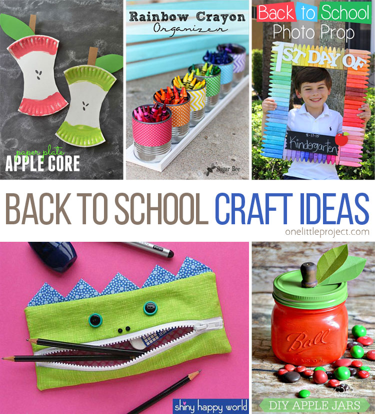 25 Totally Awesome Back To School Craft Ideas