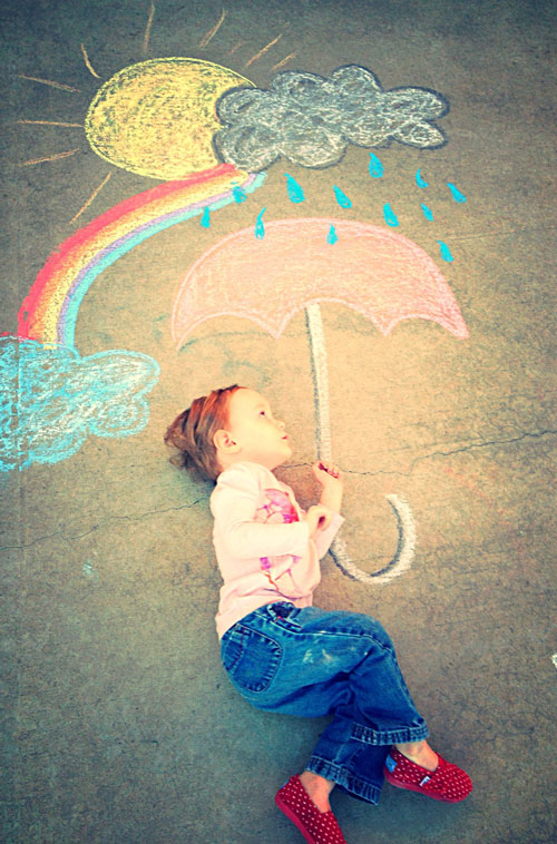 Things To Draw With Chalk Easy : things, chalk, Totally, Awesome, Sidewalk, Chalk, Ideas