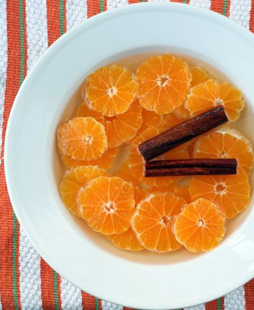 50+ Best Recipes for Fresh Clementines - Clementines in Cinnamon Syrup
