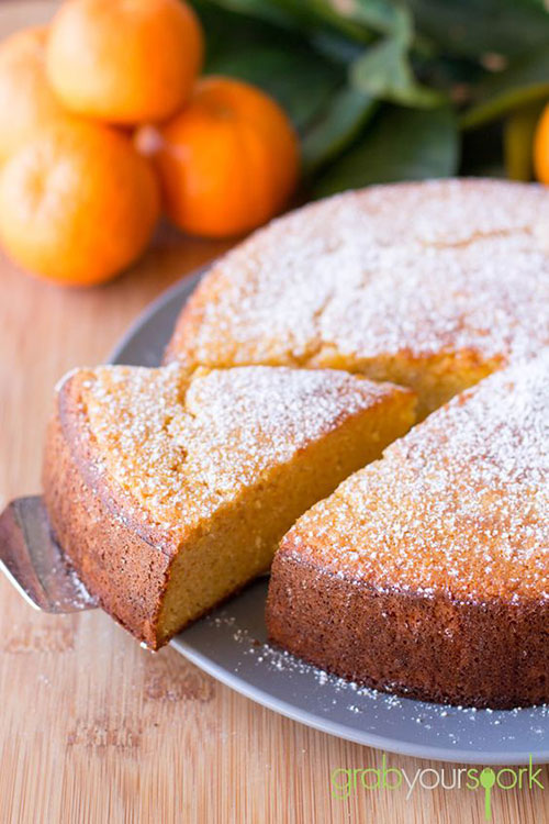 50+ Best Recipes for Fresh Clementines - Homemade Clementine Cake