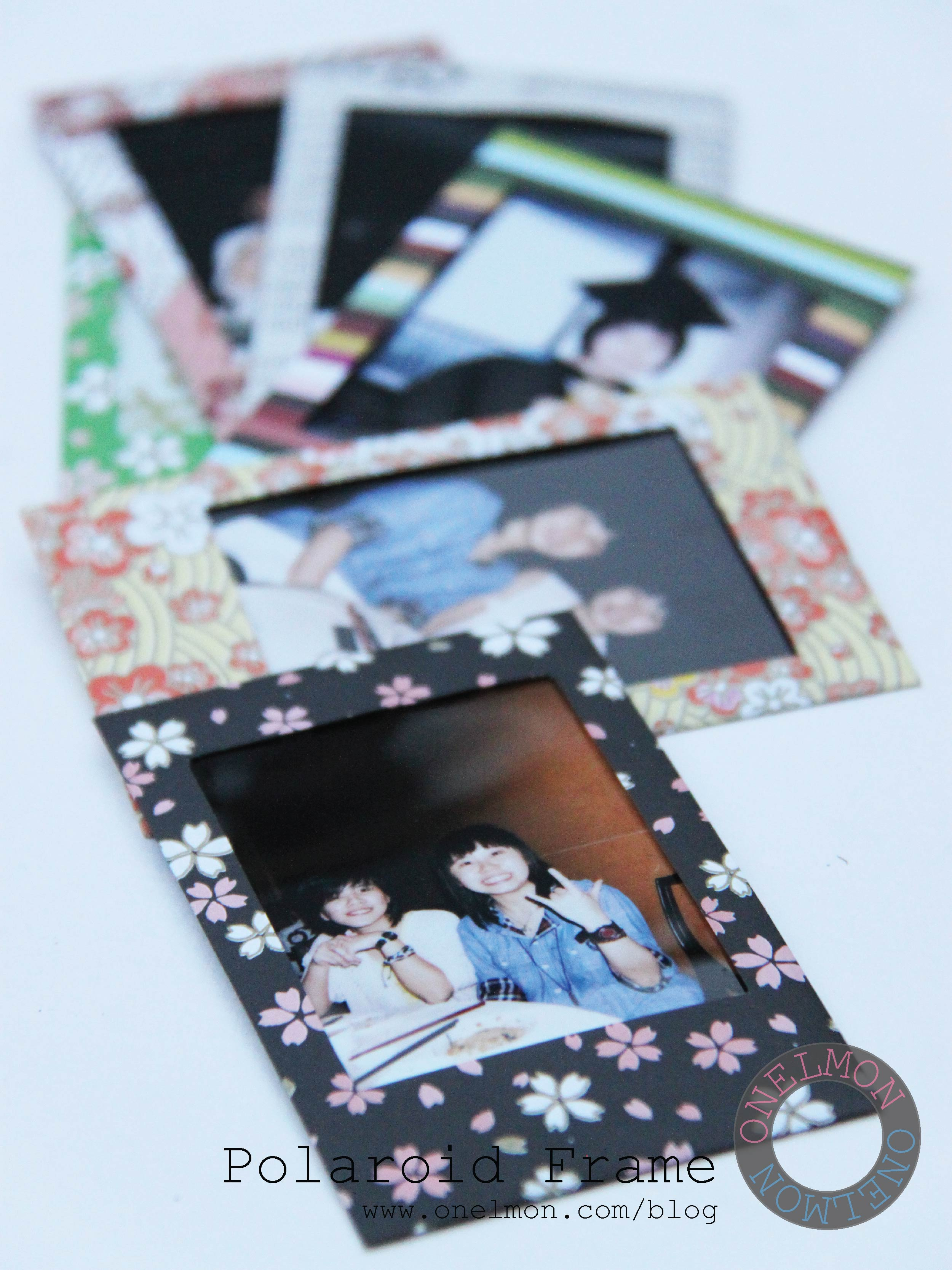 Cara Membuat Bingkai Poto : membuat, bingkai, Polaroid, Frame, Onelmon