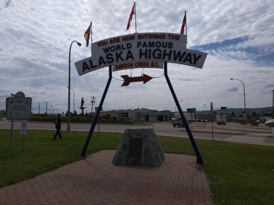 Second Alaska Highway sign (at visitor's center)