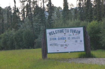 Welcome to Yukon, unfortunately it seemed these guys weren't open.