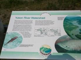 Entering the Yukon River watershed