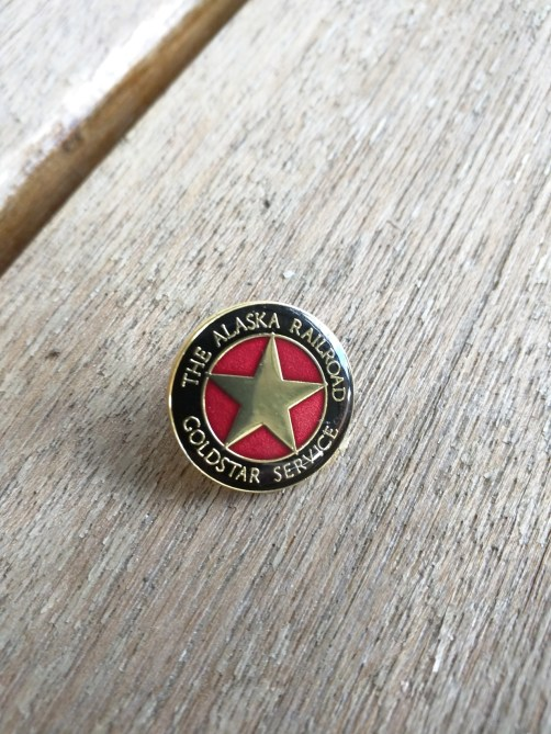 Wear this pin so that the staff knows you are in the right place.