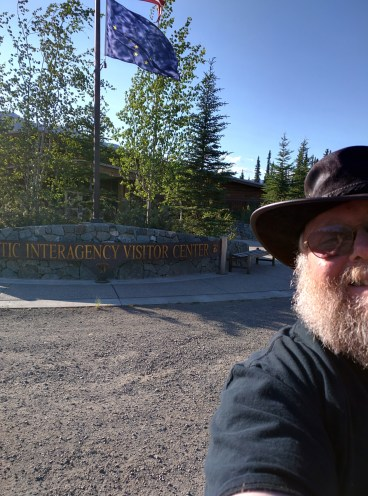 Arctic Interagency Visitors Center. You'll want to stop here.