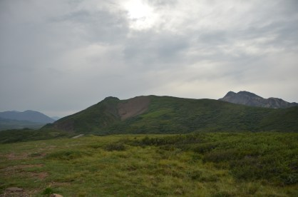 While walking randomly across the tundra is encouraged elsewhere, not here because too many people in one place.