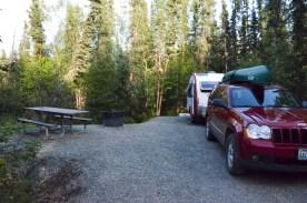 Quartz lake campground