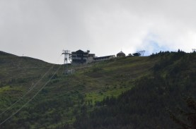 Top of the Alyeska Ski Hill.