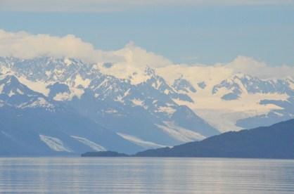 Closer look at the glaciers