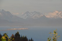 Alpenglow and the spit