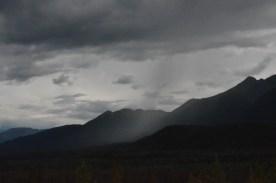 Some light rains passed through