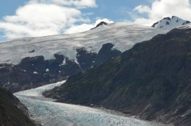 A closer view of the upper part of Bear Glacier