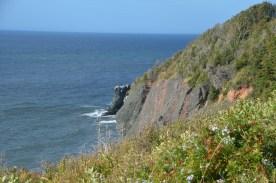 West side cliffs